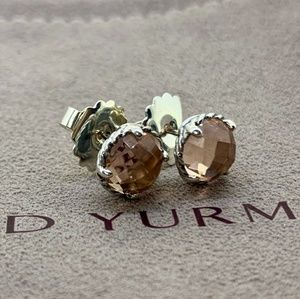 David Yurman Chatelaine Earrings with Morganite